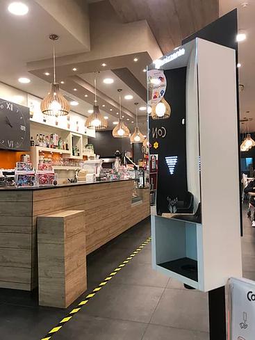 IgelMatic nel Bar del Centro Commerciale Valmarecchia