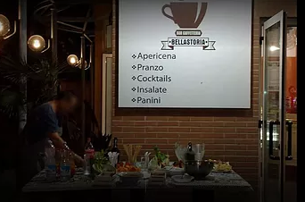 SandMatic nel Bar Caffetteria Bellastoria